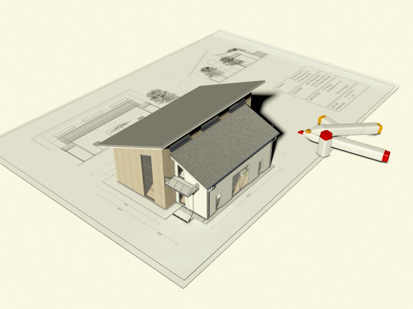 Visualisierung Gebäudeplan FX Design