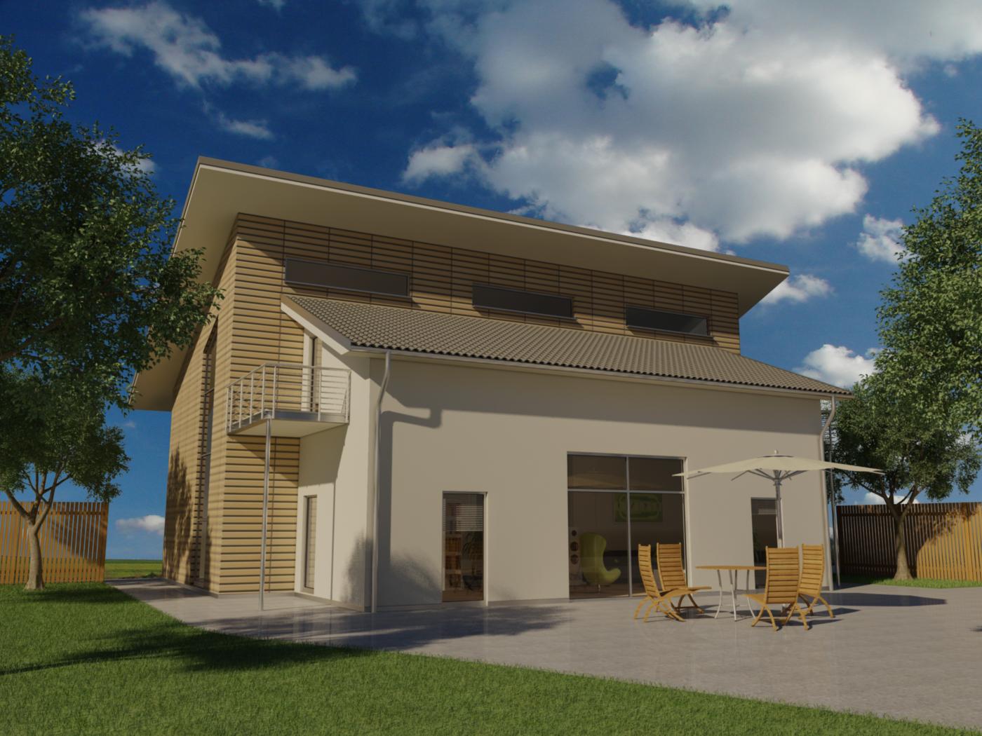 Visualisierung Gebäude FX Design